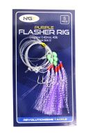 NGT Mořský návazec Purple Flasher Rig 7