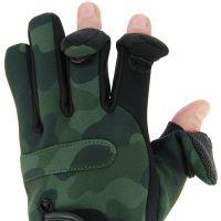 NGT Neoprén Rukavice Camo Gloves