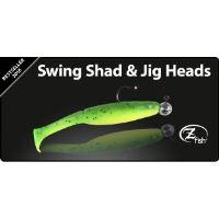 Zfish Swing Shad 10cm - 4 ks