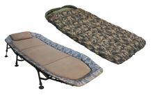 Zfish Camo Set Lehátko + Spacák, Bedchair + Sleeping Bag