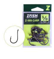 Zfish Háčky Carp Hooks Z-569 - vel.1/0