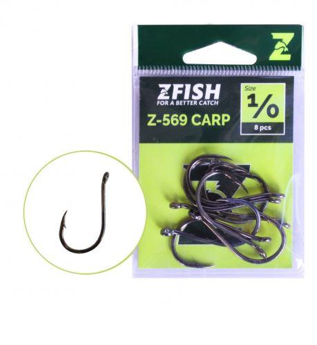 Zfish Háčky Carp Hooks Z-569