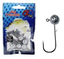Zfish Jig Head Premium 10g/Háček 4/0 - 5 ks