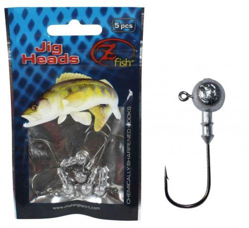 Zfish Jig Head - 5 ks