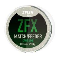 ZFISH vlasec ZFX Match/Feeder CamoLine 150m - 0,23mm
