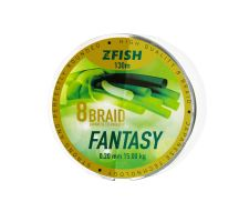 Zfish Šnůra Fantasy 8-Braid 130m - 0,20mm