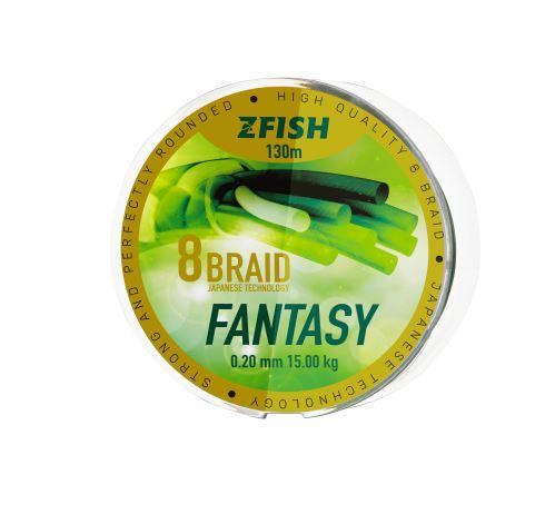 Zfish Šnůra Fantasy 8-Braid 130m