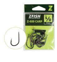 Zfish Háčky Carp Hooks Z-659 - vel.1/0