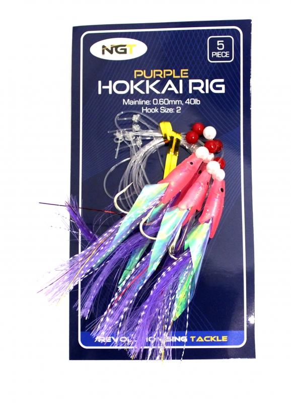 NGT Mořský návazec Hookkai Rig Purple 2