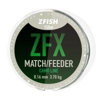 ZFISH vlasec ZFX Match/Feeder CamoLine 150m - 0,16mm