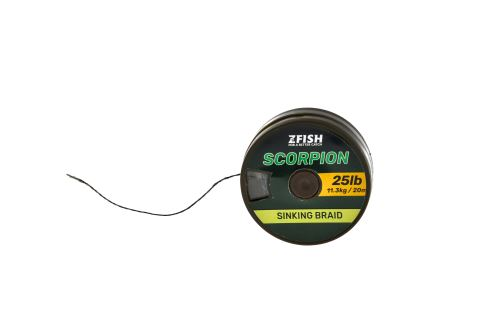 Zfish Šňůrka Scorpion Sinking Braid - 20m