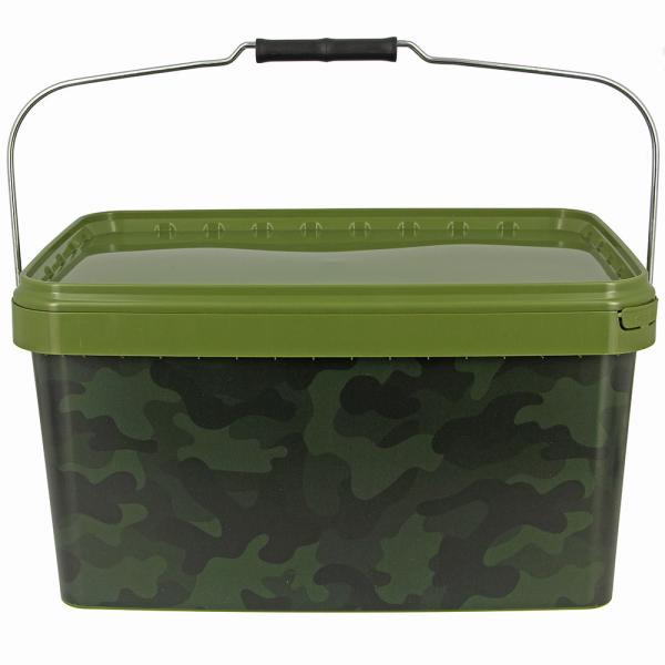 NGT Kbelík Square Camo Bucket 12,5L