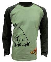 Zfish Tričko Boilie T-Shirt Long Sleeve M