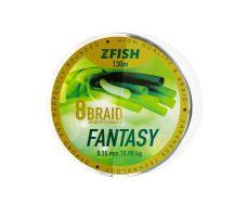 Zfish Šnůra Fantasy 8-Braid 130m - 0,15mm