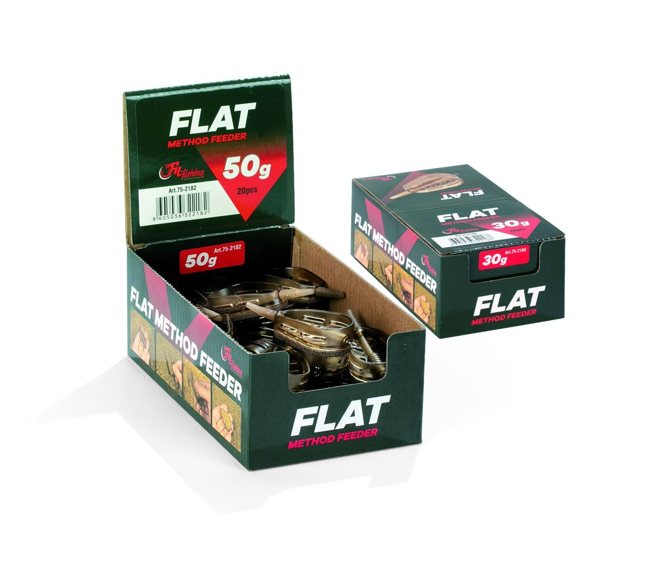 FILFISHING Krmítko Flat Method Feeder (1ks)