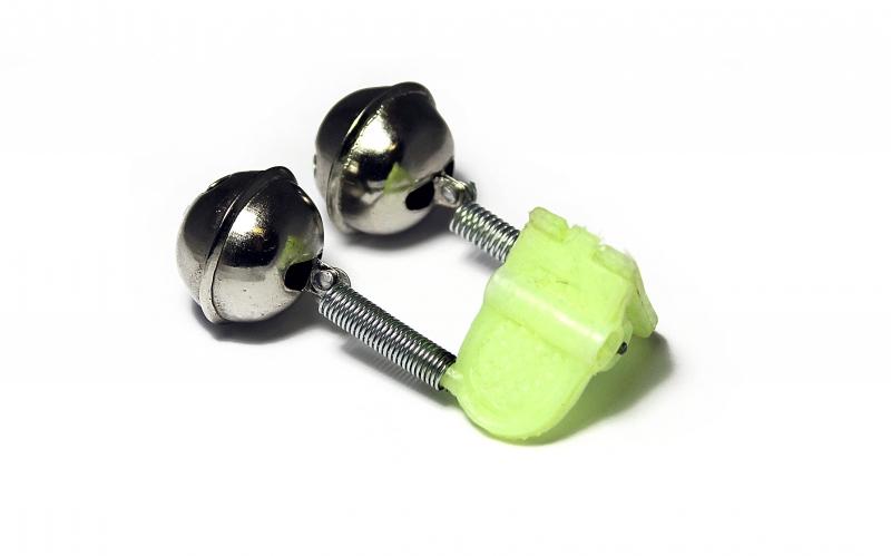 Zfish Rolnička Dvojitá Double Bell Clip 2 ks