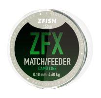 ZFISH vlasec ZFX Match/Feeder CamoLine 150m - 0,18mm