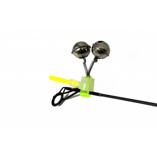 Zfish Rolnička Dvojitá Double Bell Light Clip 2pc