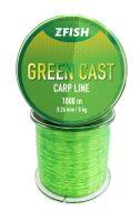 ZFISH Vlasec Green Cast Carp Line 1000m - 0,30mm