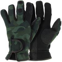 NGT Neoprén Rukavice Camo Gloves L