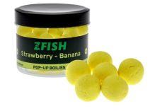 Zfish Plovoucí Boilies Pop Up 16mm - Strawberry & Banana
